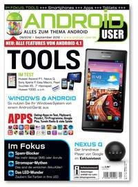 Android User Ausgabe 09/2012