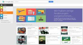 Google Play: Webversion wurde überarbeitet